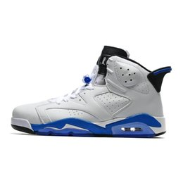 ce256a6b3498 China Mens AJ6 basketball shoes retro jumpman J6 Air flight AJ 6 sports  blue Toro Infrared