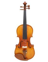 Sem violino on-line-Frete grátis AV05 Violino Violino Profissional de Madeira Maciça