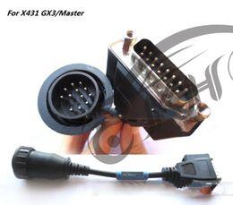 Lanzar x431 cable obd online-100% ORIGINAL para LANZAMIENTO X431 para BENZ-14 OBD II Adaptador OBDII Adaptador OBD2 Cables OBD 2