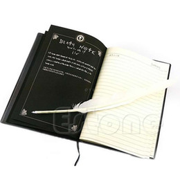 Nouveau Death Note Notebook Cosplay Stylo Plume Animation Journal d'écriture d'art ? partir de fabricateur