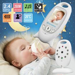 Беспроводной радионяня Way Talk Ночного видения ИК няня Babyfoon Детская камера с музыкальной температурой 2.0 дюймов цветной экран CCA11439 2шт от