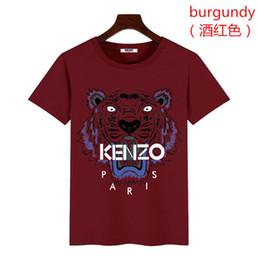 Nuevos estilos de camiseta online-19ss NUEVO estilo camiseta Moda Diseñadores para hombre T Shirt Casual Hombres Ropa Algodón Tee