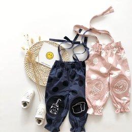 12 meses ropa de marcas para niños Rebajas Tonytaobaby Vestidos de otoño Nuevos niños Vestidos para bebés Cinturón puntiagudo Pantalones pantalones de niña Algodón