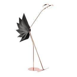 2019 учебный стенд Новый чистый красный светодиодный торшер Nordic Model Room Stand Lamp Luxury Fashion вертикальная подставка свет гостиная кабинет спальня светодиодные торшеры