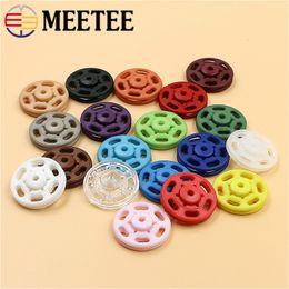 4 couleurs en plastique bouton résine fermoir Snaps boutons pour Diaper Vêtements 100 ensembles