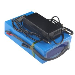 Цикл работы от батареи онлайн-С быстрой 3A зарядки глубокий цикл перезаряжаемый 48V20AH аккумулятор литий-ионный для 500 Вт до 1500 Вт мощность Бесплатная доставка
