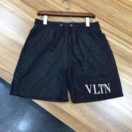 2019 vestido de transporte rápido Calções de moda masculina de secagem rápida roupas da moda verão calções de praia Bermudas calções casuais de algodão casual T-shirt