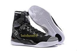 Canada Pas cher vente kobe 9 haut tissage BHM / Pâques / Chaussures de basketball de qualité supérieure pour les hommes de qualité KB 9s formateurs baskets de sport taille 40-46 V5 Offre