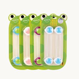 juegos de llaves de bloqueo Rebajas Infantil de plástico de bloqueo para niños Protección de los menores de seguridad del bebé de Seguridad Ventana bloqueo de la puerta enclavamientos Nevera Cerradura para Niños