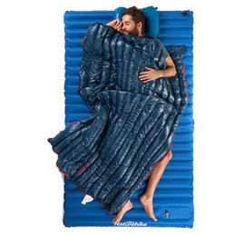 biancheria da letto arancione viola Sconti Sacchi a pelo da campeggio Naturehike Impermeabile ultraleggero Sacco a pelo in piumino bianco Tipo busta Lazy Bag da 2 C a 8 C