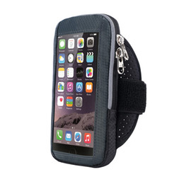 Mobile Phone Accessories Women Men Practical Anti Slip Exercise Side Pocket Stretch Workout Phone Pouch Gym Armband Elastic Fitness Holder Sports Running