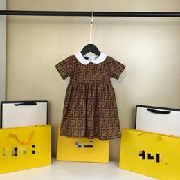 Deutschland Ein stück Einzelhandel Baby mädchen mode letetr kleider Kinder mädchen sommer prinzessin kleid kinderkleidung Versorgung