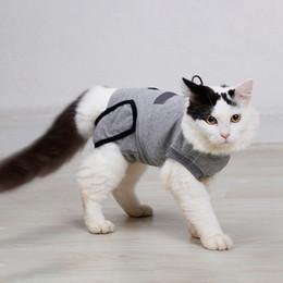 2019 одежда для ту Pet Cat Собака стерилизации Отлучение от груди лизать одежду после операции Одежда Pet хирургическое платье пальто TU дешево одежда для ту