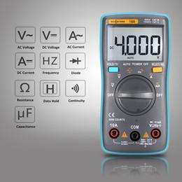 2019 medidor de circuito Multímetro digital LCD Detector de DMM DC Voltaje CA Voltímetro Medidor de resistencia de corriente Diodo de resistencia Capatancia Probador de amperímetro de frecuencia