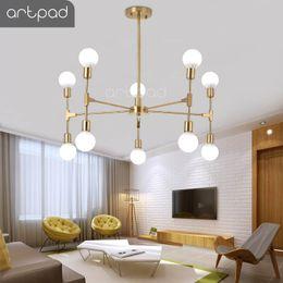 Canada vente en gros nordique moderne lustre 6/8/10 têtes E27 Edison ampoule plafond lustre luminaire chambre salon restaurant supplier wholesale edison light bulb fixtures Offre