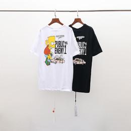 313768e38f3e 100% di sconto 2019 Marchi estivi Luxor Designer Abbigliamento uomo T-shirt  bianche Stampa Moda Donna Taglie EURO Taglia S-XL OW1049