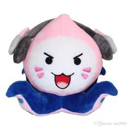 Squid Troll kawaii Stash Llama Figura bambola Morbido peluche ripiene Stash Llama Peluche giocattolo del fumetto Bambola di pezza giocattoli per bambini da tessuti per tappi fornitori