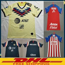 DHL LIBERA il trasporto 2019 2020 Club America maglie di calcio Chivas Club Deportivo Guadalajara 19 20 Jersey di calcio Dimensione può essere lotto misto da