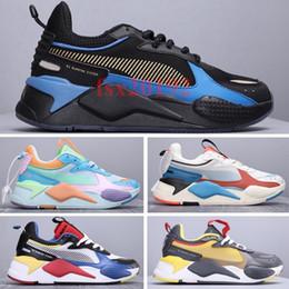 2020 rs rodas Homens Mulheres RS-X Brinquedos de Reinvenção Branco Preto Azul Vermelho Amarelo Sapatos Moda Athletic hot wheels Sneakers Jogging 36-45 desconto rs rodas