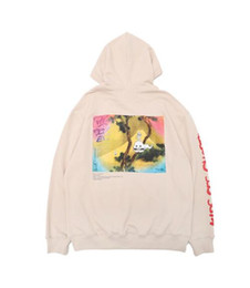 Pullover für kinder online-Kanye West Kids See Ghosts gedruckt KSG Mens Brand Designer Hoodies Hip Hop High Street Sweatshirt lässig männlich Pullover