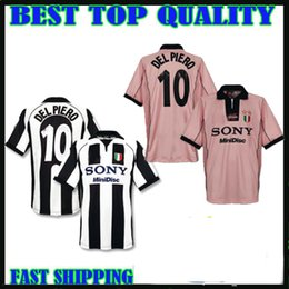 901db76da Retro 1997 98 Juventus Alessandro Del Piero 10 ZIDANE home Soccer Jersey  Football Shirt away pink Maglia Camiseta De Fútbol Juventus discount zidane  shirts