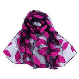 Горячая бандана онлайн-Fralu  New Hot bandana Silk Scarf Women  hijab Embroidery Long Scarf black Lace yarn Scarves Fashion Shawl Foulard