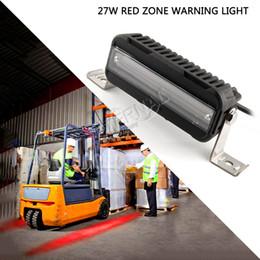 Canada 12x27W voyant de sécurité de zone rouge pour la manutention de matériel électrique de machines de construction de chariots élévateurs Offre