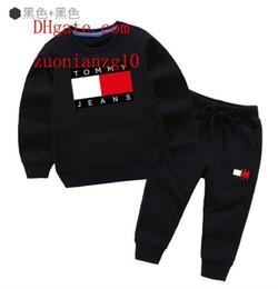 Добавить долго онлайн-Детская одежда Модный набор из 2 предметов Одежда для малышей Верхняя одежда для мальчиков с длинным рукавом + Брюки Спортивная одежда Детская спортивная одежда add-idas8