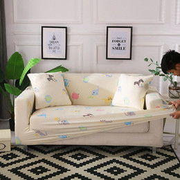 Einzel / Zwei / Drei-Sitzer Stretch Sofa Schonbezug Anti-Rutsch-Couch Sofa Cover Möbel Protector mit Anti-Rutsch-Schaum elastischen Boden von Fabrikanten