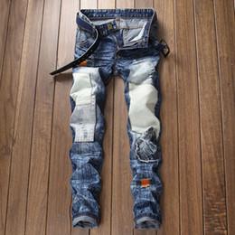 Yeni Yüksek Kalite kış sonbahar erkek Kot Streç moda Denim Kot Düz Fit Pantolon Pamuk Pantolon erkekler Büyük boy supplier large fit nereden büyük uyum tedarikçiler