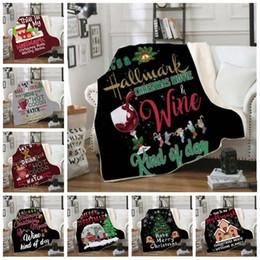 weihnachtsbettwäsche quilts Rabatt Babydecken 3D Weihnachten Winter Doppelschicht Square Swaddling Bettwäsche Quilt Nap Decken Weihnachtsbaum Tapisserie Sofa Travel Wrap Swaddle B6080