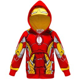 Cat Avengers Iron Man Marvel Captain America Comic Kids Hoodie Pullover Gift
