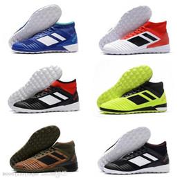 Tango Predator 18.3 Ic Mens piatto di calcio dei morsetti dei pattini atletico di Calcio Indoor Football Boots Atletica Sconto scarpe da tennis