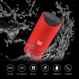 2019 ipad handfree Haut-parleurs TG113 Haut-parleurs sans fil Bluetooth Subwoofers Profil de mains libres Profil d'appel Stéréo Basse Prise en charge TF Carte USB