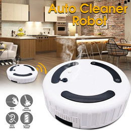 robot di vuoto Sconti 3 in 1 Robot multi-funzione Smart Sweeping Sweeping + Mopping + Umidificatore Floor Dust Hair Cleaner automatico Smart Home