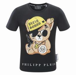 2019 marca casual carta de los hombres de impresión de hip hop tops streetwear camisetas para hombres de verano camiseta de manga corta de algodón # 922 camiseta desde fabricantes