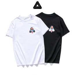 cf7579d4 19ss new PALACES t shirt brand mens designer t shirts Triangle cobra wild  tshirt European American streets women t-shirt Round neck cotton