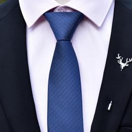 Männer Reißverschluss Krawatte 6 CM Feste Freizeit Stil Einfachheit Design Business Formale Partei Krawatten Dünne Mode Hemd Zubehör von Fabrikanten