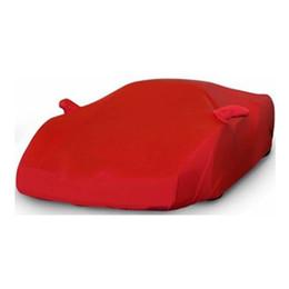 Lada kalina online-Elastic Car Cloth Custom Car Cover Dust-proof for Lada Kalina Auto Surface Indoor Protector