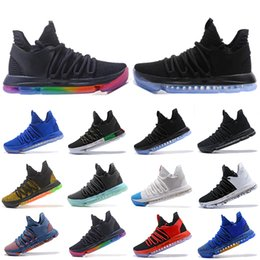 a02a1229006f Cheaper New Zoom KD 10 Mens Basketball Shoes Be True BHM celebration All  Star Fruit pulp Igloo Designer Trainers Sports Sneakers 40-46 kd shoes  orange blue ...