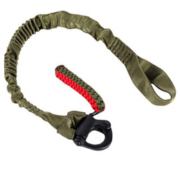 fusil de rifle táctico Rebajas Caza táctico Cinturón de nylon transpirable acolchado de hombro rotativo de 360 grados clip de sujeción de la cuerda de seguridad Rifle Sling Correa