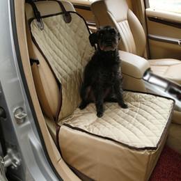 fuente de alimentación de bolsillo Rebajas Mascotas Perros Gatos Cubierta del asiento delantero del automóvil Protector de la almohadilla del tapete Cubierta del asiento del cubo impermeable para mascotas Cojín del coche delantero para perros pequeños