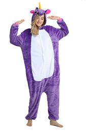 2019 pigiama unicorno morbido flanella pigiama inverno pigiama notte pigiami cosplay costume trasporto di goccia in vendita da pijamas costume fornitori