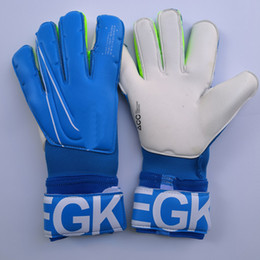 Gants de gardien de but de football en Ligne-2019 Real Logo Lettre VG3 Football Gants De Gardien De But Original Gants Gardien De But Football Bola De Futebol Gants Luva De Goleiro
