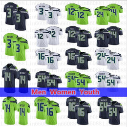 2020 marshawn lynch jersey xxl Homens mulheres seattle.