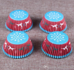 Argentina NUEVO 100 UNIDS Muffins Papel Cupcake Wrappers Hornear Copas Casos Muffin Cake Cake Decorating Herramientas Kitchen Cake Herramientas DIY supplier boxes for cup cakes Suministro