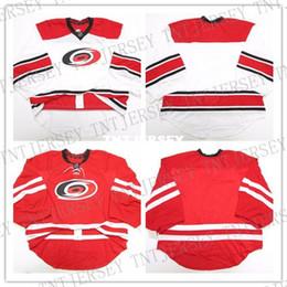 3cbdc9fb6 Cheap wholesale custom CAROLINA HURRICANES HOME AWAY JERSEY GOALIE CUT Mens  Stitched Personalized hockey Jerseys carolina hurricane promotion