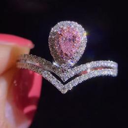 mayoristas de piedra Rebajas Hip Hop Ice Out ZC Anillo de diamante 18 K Oro Anillo de diamante de lujo Anillo de regalo de boda femenino Pandora Collar colgante