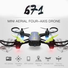 câmera quadcopter w Desconto 671 W RC Câmera Zangão 0.3MP WIFI FPV Quadcopter Helicóptero Uma Chave de Retorno Altitude Controle Remoto Câmera Drones 2.4G 4CH Drones