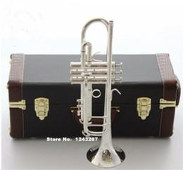 Nuova tromba americana originale Bach in oro e argento placcato argento AB 190S piccoli strumenti musicali Riproduzione professionale Spedizione gratuita da nuova tromba di tasca fornitori